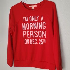 Christmas Sweater Soft Stretch Sz. M